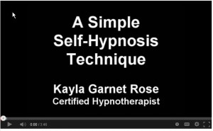 simple self-hypnosis technique video